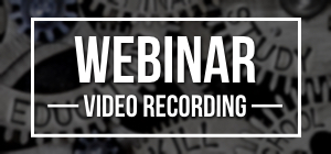 Recorded Webinar Event